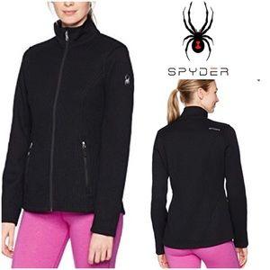 Spyder Endure Stryker Black Full-Zip Jacket